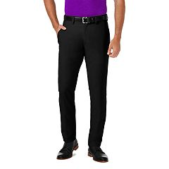 Men's Haggar® Cool 18® PRO Slim-Fit Wrinkle-Free Flat-Front Premium Flex Waist Pants