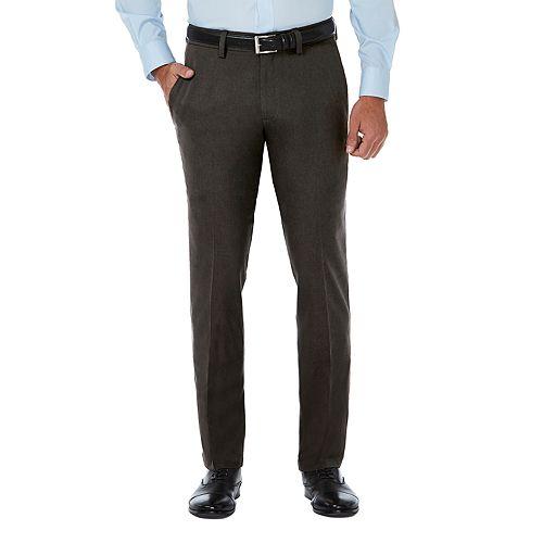 Men's Haggar® Cool 18® PRO Slim-Fit Wrinkle-Free Flat-Front Premium Flex Waist Pants