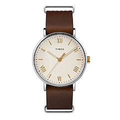 Timex Men's Southview Leather Watch - TW2R80400JT