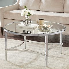 Madison Park Signature Triton Round Coffee Table
