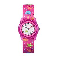 Timex Kids' Sea Creatures Time Teacher Watch - TW7C13600XY