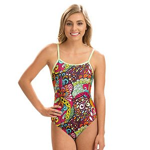 d834e8e869e5b Women s Dolfin Uglies Printed One-Piece Swimsuit