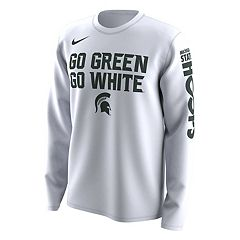 Men's Nike Michigan State Spartans 2018 March Madness Bench Tee