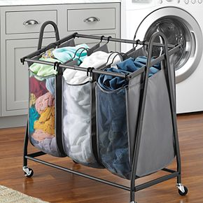 Whitmor Arch Triple Laundry Sorter