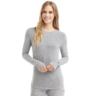 Women's Cuddl Duds Soft Knit Crewneck Top