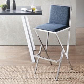 INK+IVY Obsidian Modern Counter Stool
