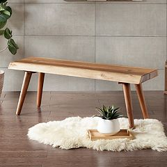 INK+IVY Arcadia Wood Dining Bench