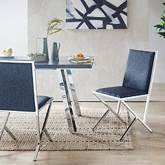 INK+IVY Obsidian Side Dining Chair 2-piece Set