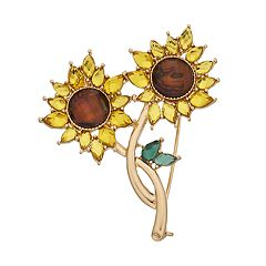 Napier Sunflower Pin