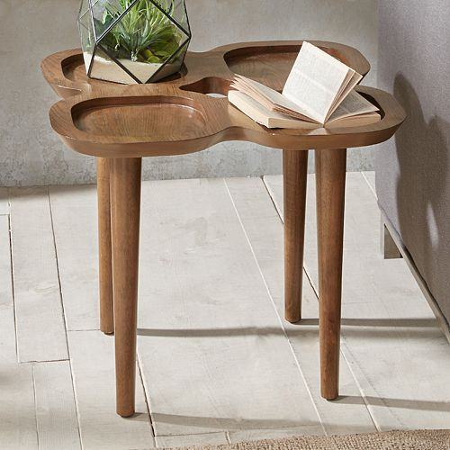 INK+IVY Oden Tray Top End Table