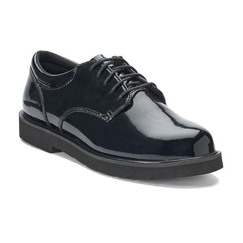 Bates High Gloss Duty Men's Oxford Work Shoes