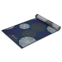 Gaiam 6mm Reversible Subtle Bloom Yoga Mat