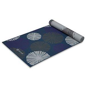 Gaiam 6mm Reversible Subtle Bloom Yoga Mat