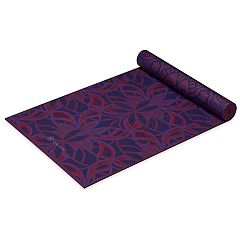 Gaiam 6mm Premium Reversible Divinity Yoga Mat