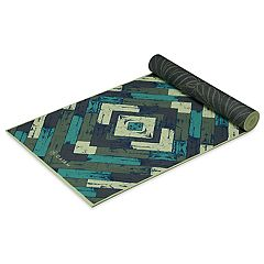 Gaiam 6mm Premium Reversible Fusion Yoga Mat
