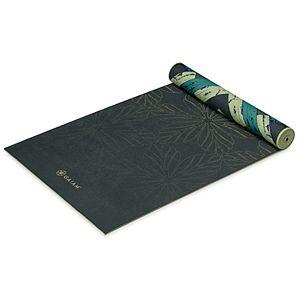 Gaiam 6mm Premium Reversible Fusion Yoga Mat