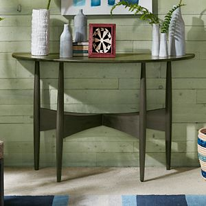 INK+IVY Ellipse Half Console Table