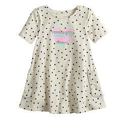 Toddler Girl Jumping Beans® Floral Print Swing Dress