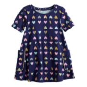 Toddler Girl Jumping Beans® Floral Print Swing Dress