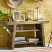 INK+IVY Westwood Rustic Console Table