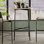 INK+IVY Renu Rustic Industrial Bar Table