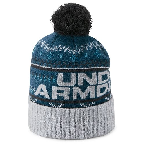 df88fe68344 Men s Under Armour Retro Pom Beanie