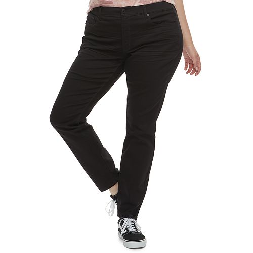 Juniors' Plus Size Mudd® Low Rise Skinny Jeans