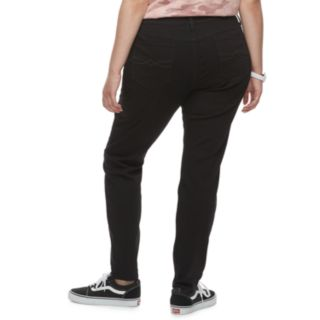 Juniors' Plus Size Mudd® Low Rise Skinny Jeans