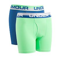 Boys 6-20 Under Armour Performance 2-Pack Boxers