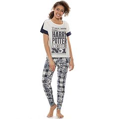 Junior's Harry Potter 'Undesirable No 1' Graphic Tee & Joggers Pajama Set