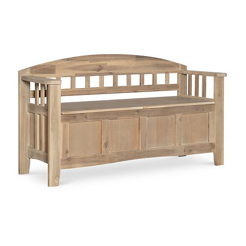 Linon Aria Storage Bench