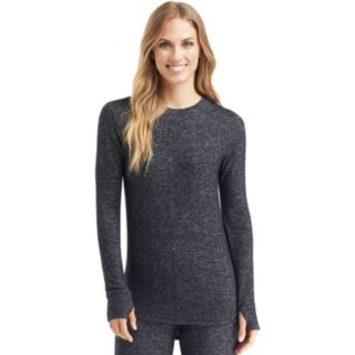 Women's Cuddl Duds Soft Knit Long Sleeve Top