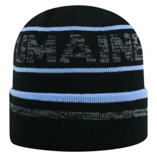Adult Top of the World Maine Black Bears Effect Beanie