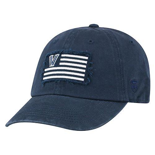 Adult Top of the World Villanova Wildcats Flag Adjustable Cap