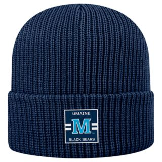 Adult Top of the World Maine Black Bears Incline Ribbed Beanie