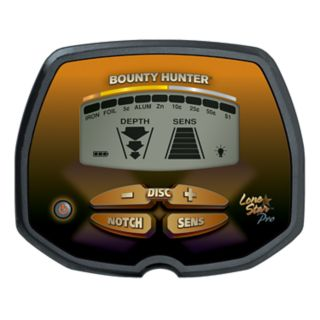 Bounty Hunter Pro Lone Metal Detector with Bonus Pinpointer
