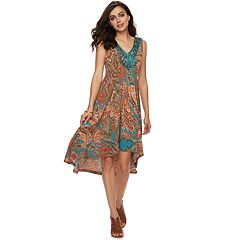 Women's Apt. 9® Printed High-Low Dress