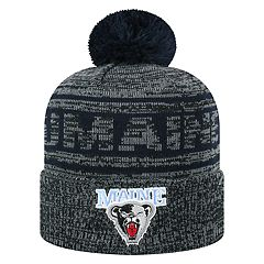 Adult Top of the World Maine Black Bears Sock it 2 Me Beanie