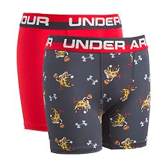 Boys 6-20 Under Armour Pizza 2-Pack Boxer Briefs