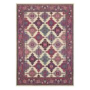StyleHaven Bijou Medallion Panel Framed Rug