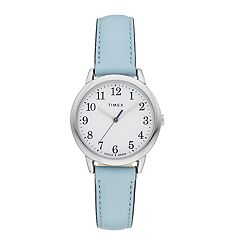 Timex Women's Easy Reader Leather Watch - TW2R62900JT