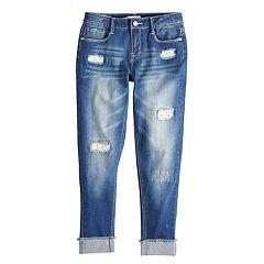 Girls 7-16 Mudd® Girlfriend Denim Jeans