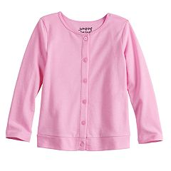 Toddler Girl Jumping Beans® Button-Up Cardigan Sweater