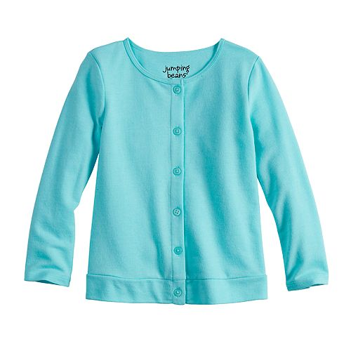 Toddler Girl Jumping Beans® Button-Up Knit Cardigan