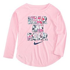 Girls 4-6x Nike 'Hear Me Roar' Dri-FIT Tee