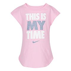 Girls 4-6x Nike 'This Is My Time' Core Graphic Tee
