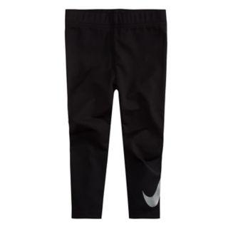 Girls 4-6x Nike Swoosh Graphic Leggings