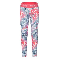 Girls 4-6x Nike DriFIT Pink Athletic Leggings