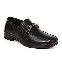 Deer Stags Point Boys' Dress Loafers