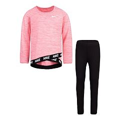 Girls 4-6x Nike Dri-FIT Crossover Top & Leggings Set